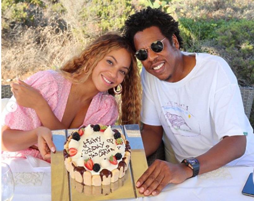 urodziny Beyoncé Knowles, Jay Z, Beyonce i Jay Z