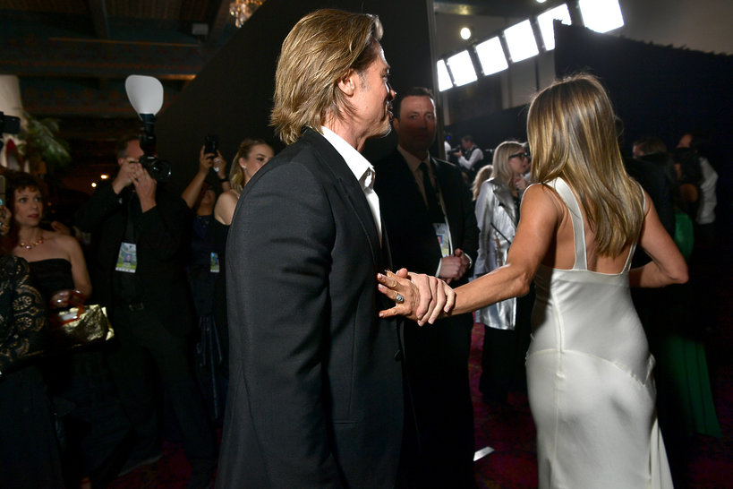 Sag Awards, Brad Pitt, Jennifer Aniston