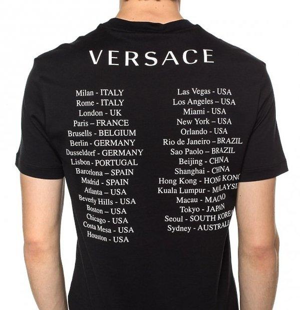 Versace przeprasza Chiny za koszulki