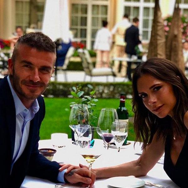 Victoria Beckham i David Beckam