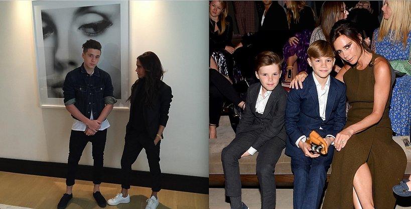 Victoria Beckham z synami