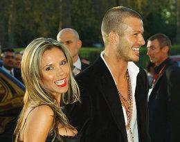 Victoria i David Beckham 2004