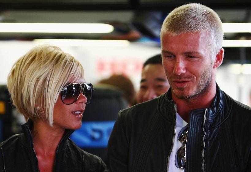 Victoria i David Beckham 2007