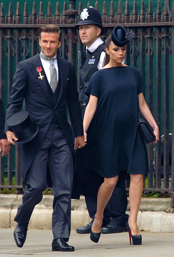Victoria i David Beckham 2011