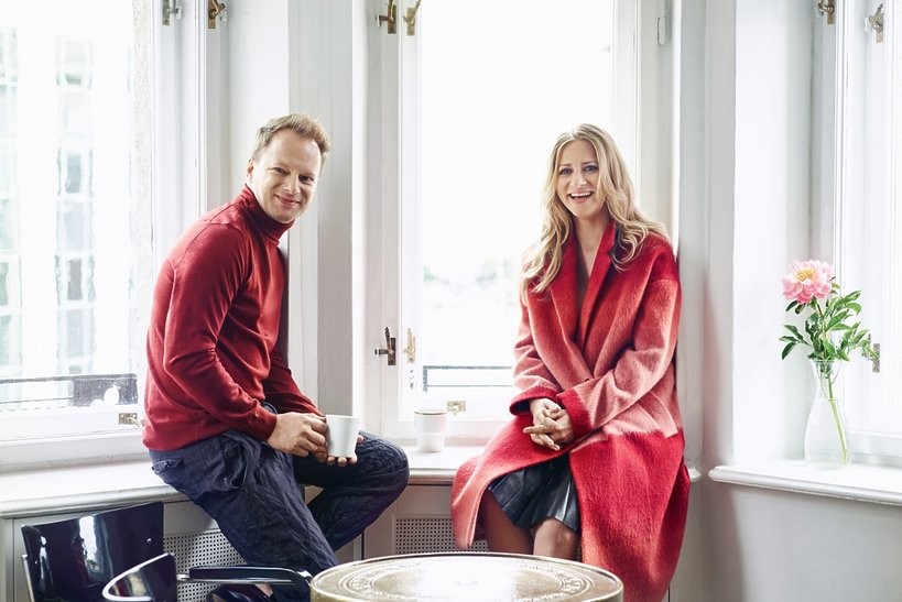 Maciej Stuhr i Marianna Stuhr,