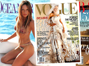 Vogue, Vanity Fair, magazyny dla panów. Zobacz kto miał sesje Melani Trump