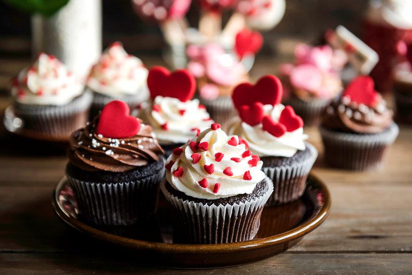 Walentynkowe desery
