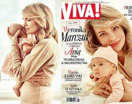 Weronika Marczuk po raz pierwszy z córeczką Anią w wyjątkowej sesji VIVY!