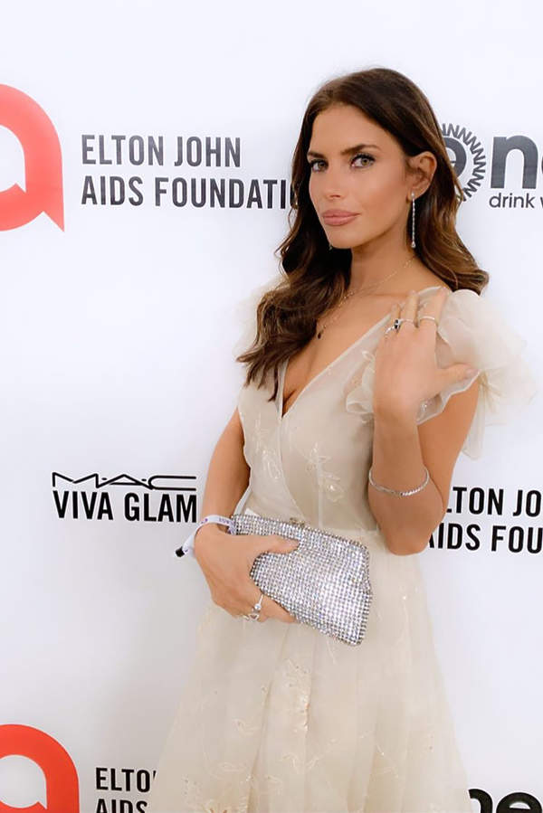 Weronika Rosati Elton John Aids Foundation Party 2020