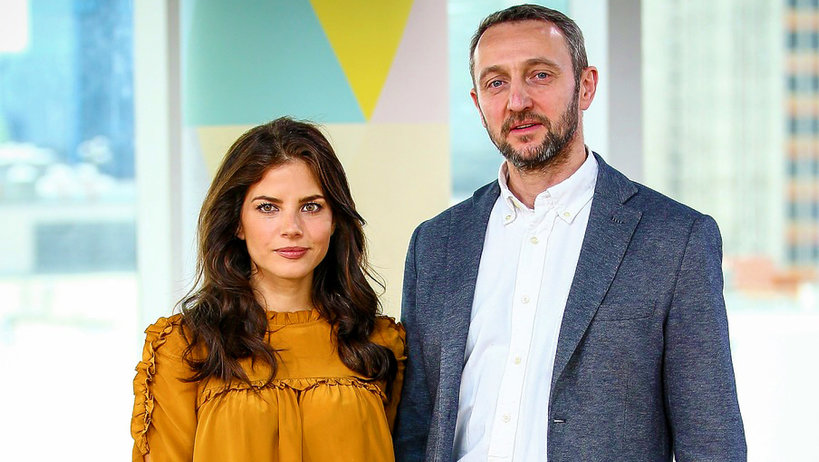 Weronika Rosati i Robert Śmigielski