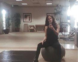 Weronika Rosati na siłowni
