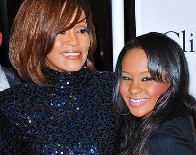 Whitney Houston i córka Bobby Kristina Brown