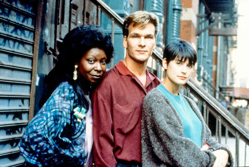 WHOOPI GOLDBERG, 1990, Film Uwierz w ducha