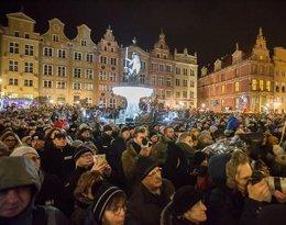 Wiec przeciwko agresji i przemocy w Gdańsku