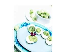 Wielkanocny stół Anny i Roberta Lewandowskich