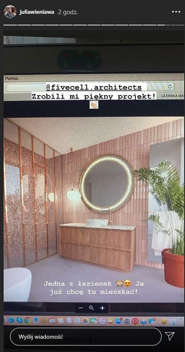 Wieniawa pokazala luksusowy apartament 2020