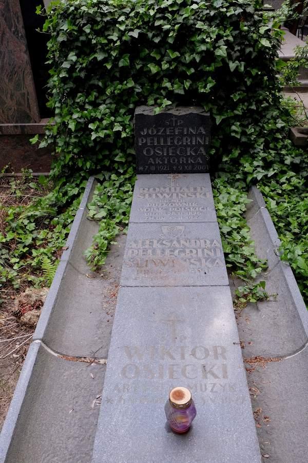 Wiktor Osiecki, grób