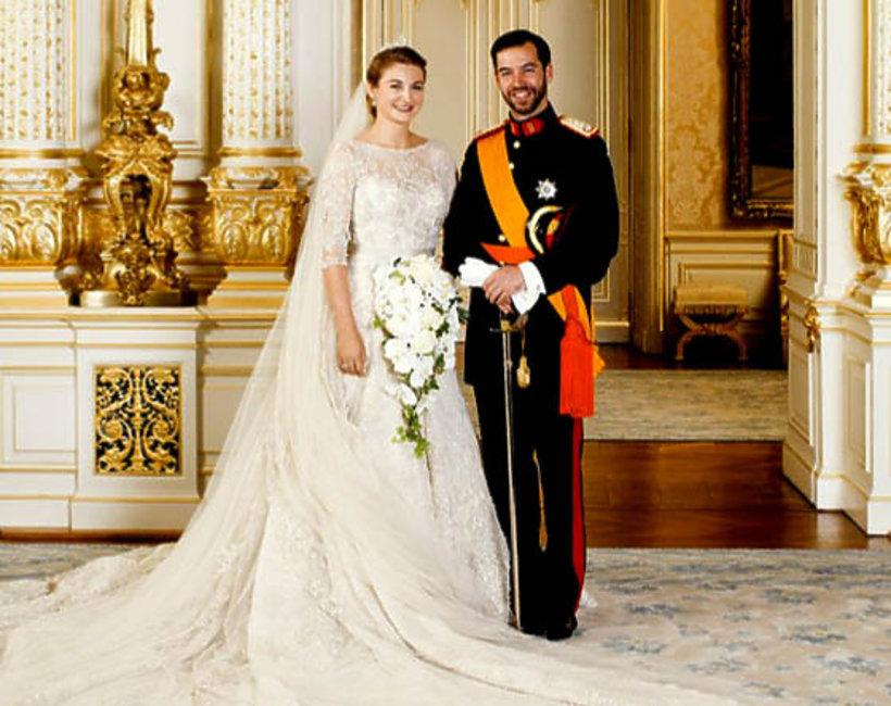 Wilhelm i Stephanie de Lannoy, ślub