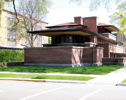 Willa Robiego w Chicago, Frank Lloyd Wright