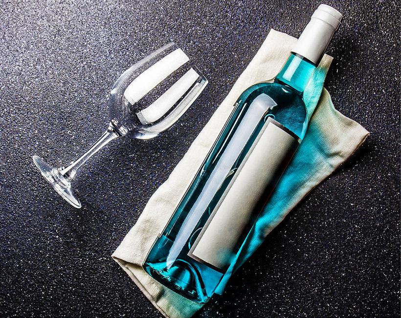 wino niebieskie
