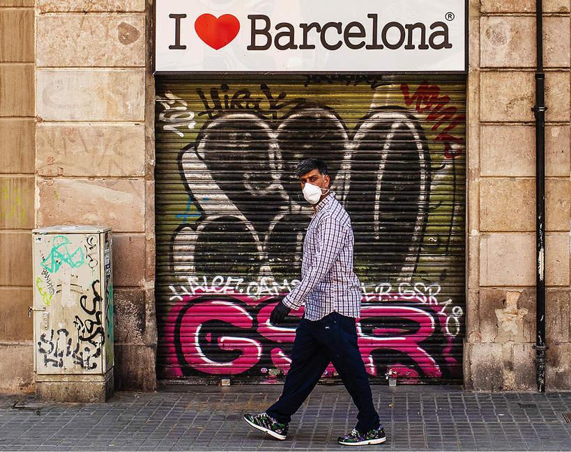 Wirus, Barcelona, Hiszpania