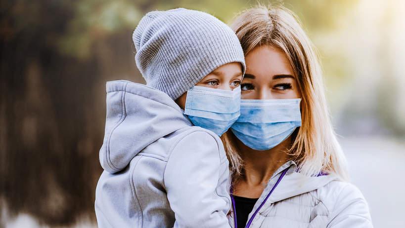Wirus, koronawirus, maseczka, choroba