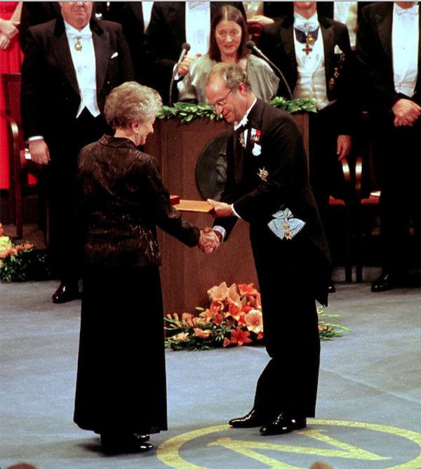 Wisława Szymborska, Nagroda Nobla