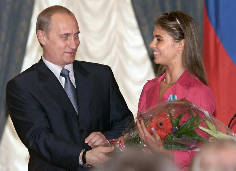 Władimir Putin, Alina Kabajewa