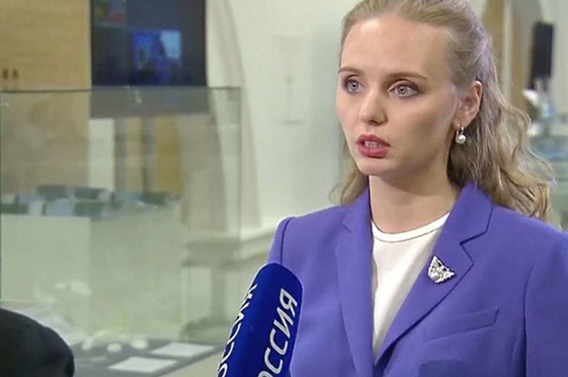 Władimir Putin, córka Maria Woroncowa