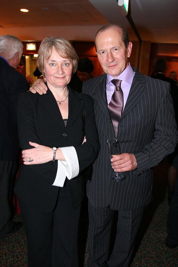 Włodzimierz Szaranowicz z żoną, MAgdalena Szaranowicz