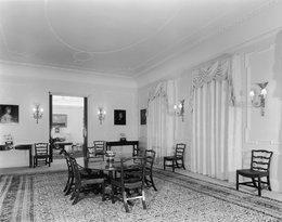 wnętrza Clarence House, królewskie rezydencje