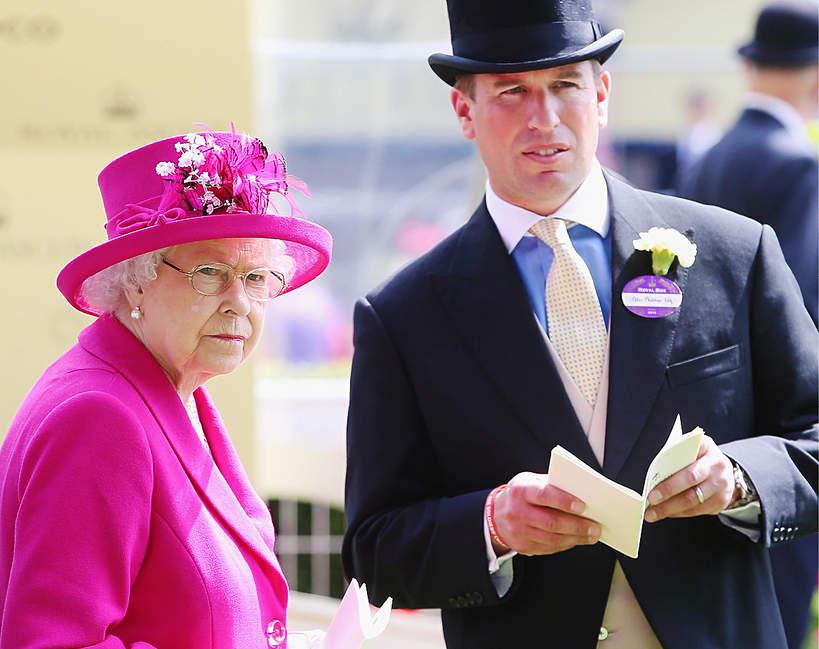 Wnuk królowej Elżbiety II Peter Philips, Autumn Philips