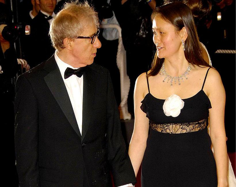 Woody Allen z żoną, Soon-Yi Previn
