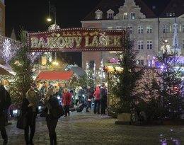 Wrocław iluminacja świąteczna