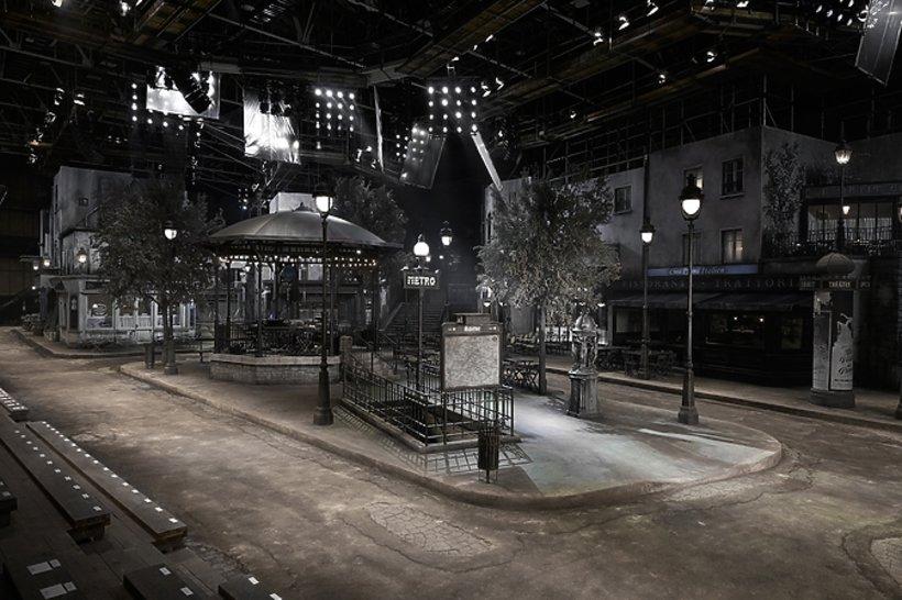 Wybieg pokazu Chanel Metiers d'Arts