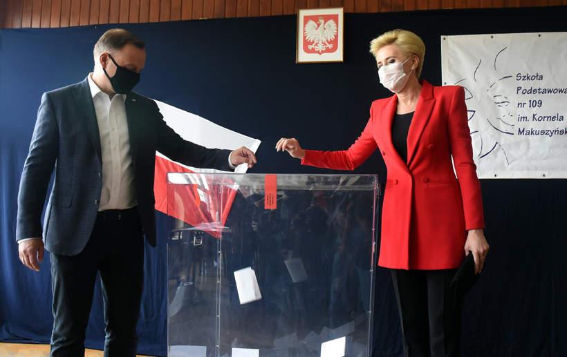 Wybory prezydenckie 2020 Andrzej Duda, Agata Duda