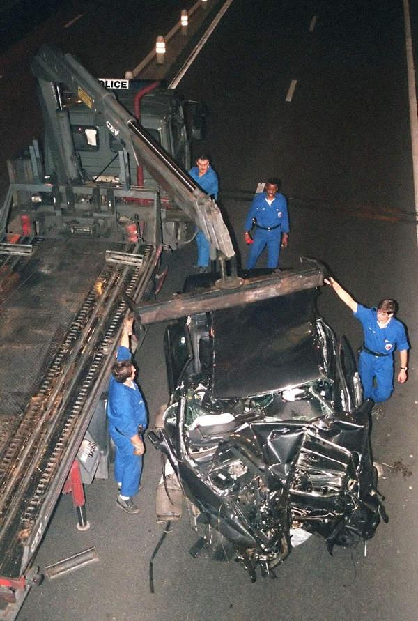 Wypadek księżnej Diany samochód