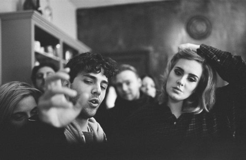 Xavier Dolan i Adele