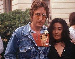 Yoko Ono i John Lennon w Cannes