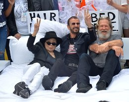 Yoko Ono, Ringo Starr, Jeff Bridges