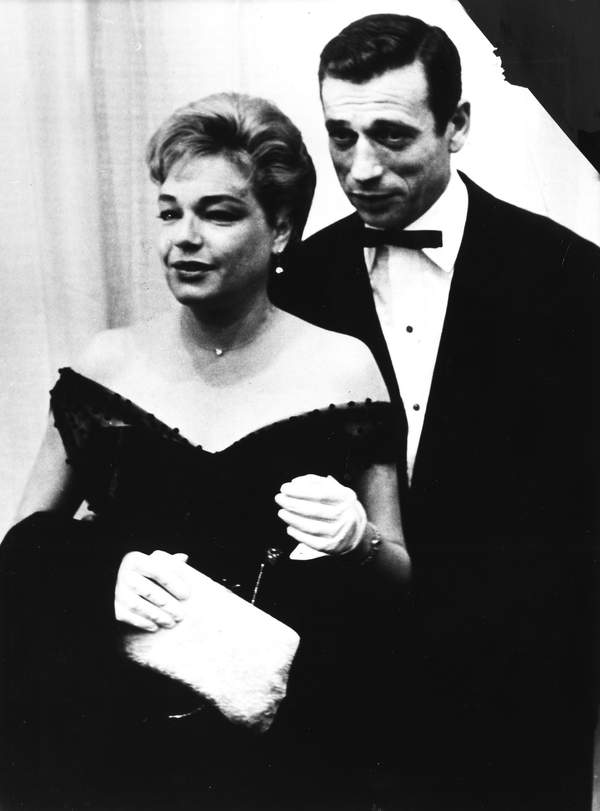 Yves Montand i Simone Signoret