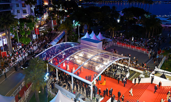 Za kulisami festiwalu w Cannes