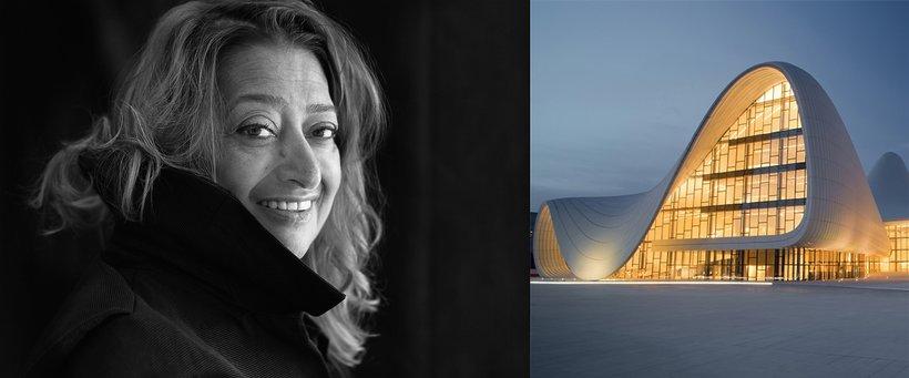 Zaha Hadid, Heydar Aliyev Center w Baku