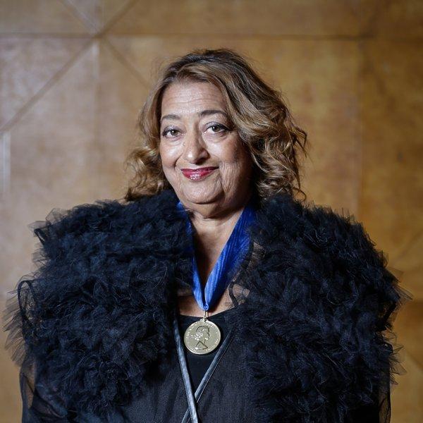 Zaha Hadid z nagrodą