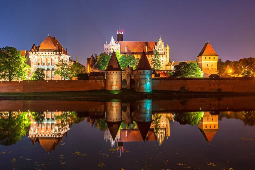Zamek w Malborku 2020