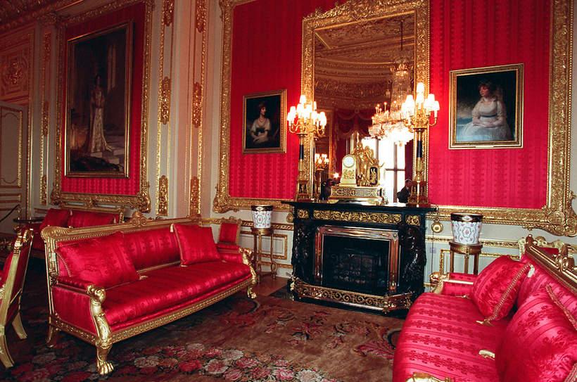 Zamek Windsor: Karmazynowy Pokój