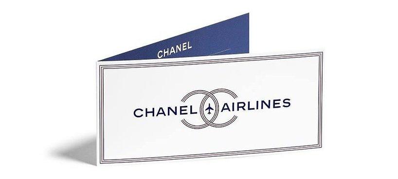 Zaproszenie na pokaz Chanel wiosna-lato 2016