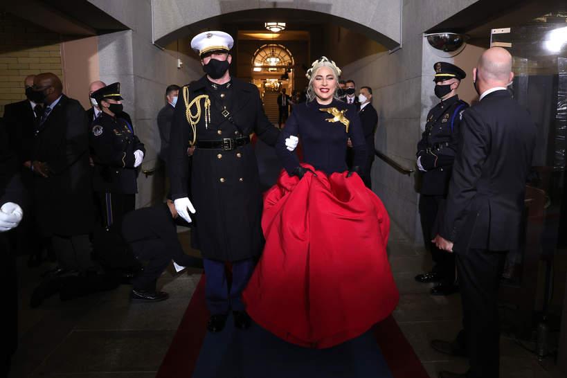 Zaprzysiężenie Joe Bidena, Lady Gaga