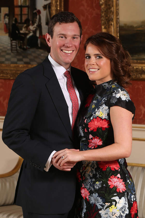 Zaręczyny księżniczka Eugenia i Jack Brooksbank
