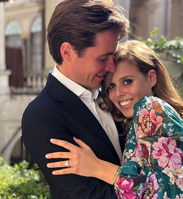 Zaręczyny księżniczki Beatrice oficjalne zdjęcia